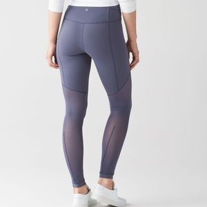 Lululemon High Rise Sculpt It Tight in Greyvy